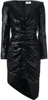 Saint Laurent sequin embellished dress - women - Silk - 38