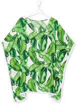 Mc2 Saint Barth Kids TEEN printed tunic blouse