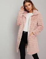 Vila Soft Faux Fur Coat