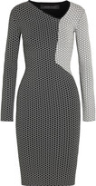 Roland Mouret Nassau stretch-knit jacquard dress