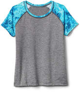 Athleta Girl Heather Splash Rashguard