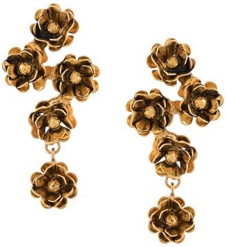 Jennifer Behr Hanging Flower Earrings