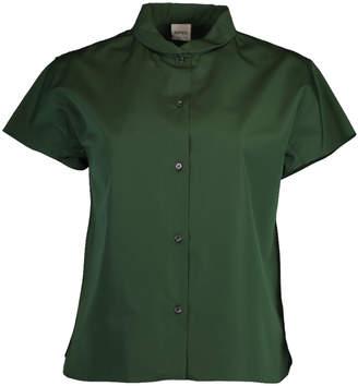 Aspesi Cap Sleeve Button Up Shirt