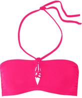 Eres Grigri Le 7 Bandeau Bikini Top - Fuchsia