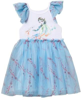 Pippa Pastourelle by and Julie Frozen Flutter Sleeve Tutu Dress (Toddler & Little Girls)