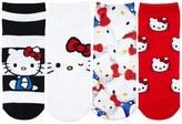 Forever 21 FOREVER 21+ Hello Kitty Crew Socks - 4 Pack