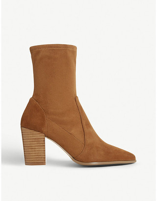 Dune Ostene leather ankle boots