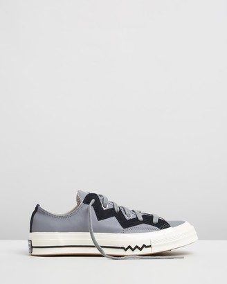 Converse Chuck 70 Leather And Chevron Sneakers - Women's