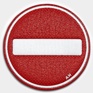 Anya Hindmarch No Entry Leather Sticker