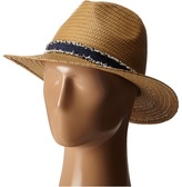 Vince Camuto Frayed Band Panama Hat