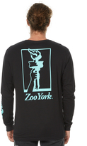 Zoo York Sawmill Ls Mens Tee Black