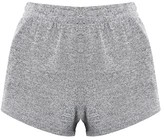 Topshop Cut And Sew Runner Shorts