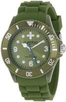 RumbaTime Unisex 12498 Perry Silicone 42MM Infantry Modern Stylish Analog Watch