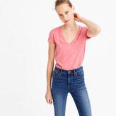 J.Crew V-neck T-shirt in slub cotton