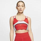 Nike Women's Medium-Support Sports Bra Swoosh UltraBreathe City Ready