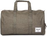 Herschel Novel Canteen Green Canvas Duffle Bag