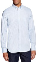 Tailorbyrd Slub Woven Classic Fit Button Down Shirt
