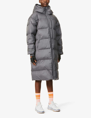 adidas by Stella McCartney Quilted padded recycled-polyester puffer jacket