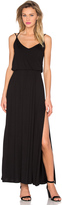 David Lerner Criss Cross Maxi Dress