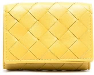 Bottega Veneta Intrecciato tri-fold wallet