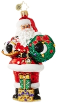 Christopher Radko Traditional Santa Ornament