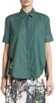 ADAM by Adam Lippes Women's Cotton Poplin Trapeze Shirt