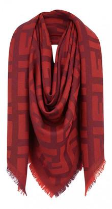 Fendi Red Cashmere Scarves