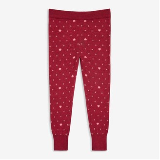 Joe Fresh Toddler Girls' Sweater Legging, Magenta (Size 5)
