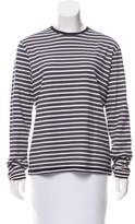 Victoria Beckham Striped Long Sleeve Top