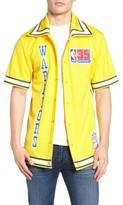 Mitchell & Ness Men's Authentic Shooting Golden State Warriors Shirt