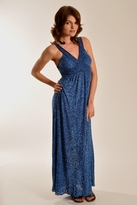 Testament Tiger Lily Maxi Dress in Navy