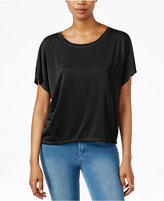 Rachel Roy Split-Back Short-Sleeve Top