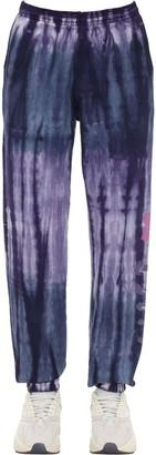 Tie Dyed Cotton Sweatpants