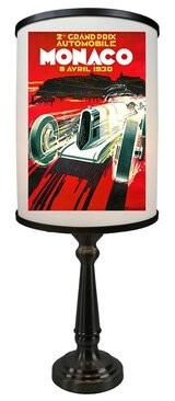 "Red Barrel Studioâ® Dunnstown Grand Prix de Monaco 22"" Table Lamp Red Barrel StudioA"