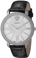 Versace Women's VQQ010015 New Krios Analog Display Swiss Quartz Black Watch