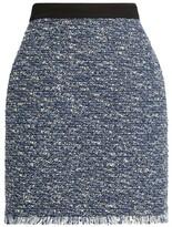 Claudie Pierlot Metallic Tweed Mini Skirt