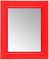 Kartell Francois Ghost Mirror - Red - Small
