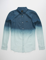 RVCA That'll Do Chambray Rinsed Mens Shirt