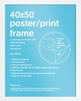 Camilla And Marc GB eye 40 x 50 cm FMMPA1WH Mini Poster Frame
