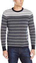 Nautica Men's Jacquard Sweater