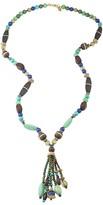 """Lauren Ralph Lauren Long Tassel Necklace, 30"""""""