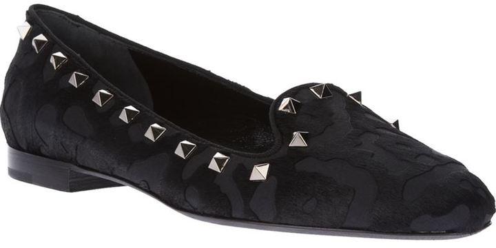 Valentino Garavani 'Rockstud' slipper