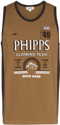Phipps Logo Print Tank Top