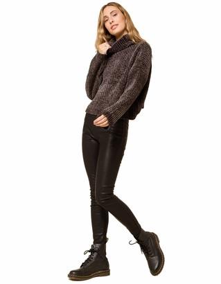 Blank NYC Women's Pull On Vegan Leather Legging - Black - 28 29.5