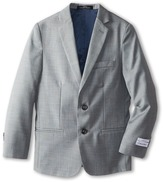 Calvin Klein Kids Sharkskin w/ Blue Deco Jacket (Big Kids)
