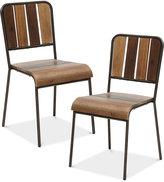 Renu Set of 2 Dining Chairs, Quick Ship