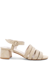Maryam Nassir Zadeh Suede Palma Low Sandals