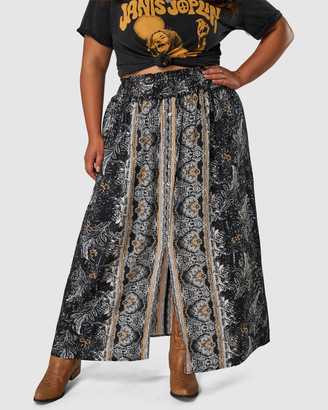 The Poetic Gypsy - Women's Black Maxi skirts - Romance Lost Maxi Skirt - Size One Size, 10 at The Iconic