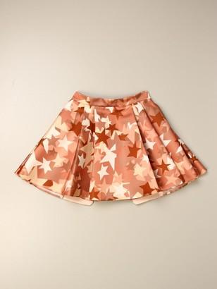Elisabetta Franchi Skirt With All Over Stars