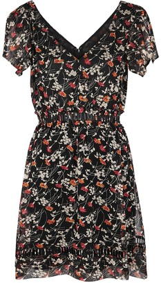 Joie Huntlie floral-print georgette mini dress